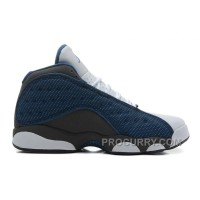 Air Jordans 13 Retro French Blue/Flint Grey-White For Sale