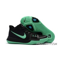 Girls Nike Kyrie 3 Black Grass Green Cheap To Buy