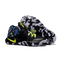 "Nike Kyrie 2 ""Camo"" Black/Neon Green Basketball Shoes Online"