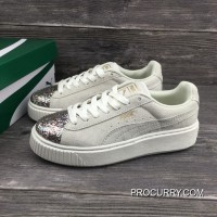 Puma Basket Creeper Blink White For Women Copuon Code