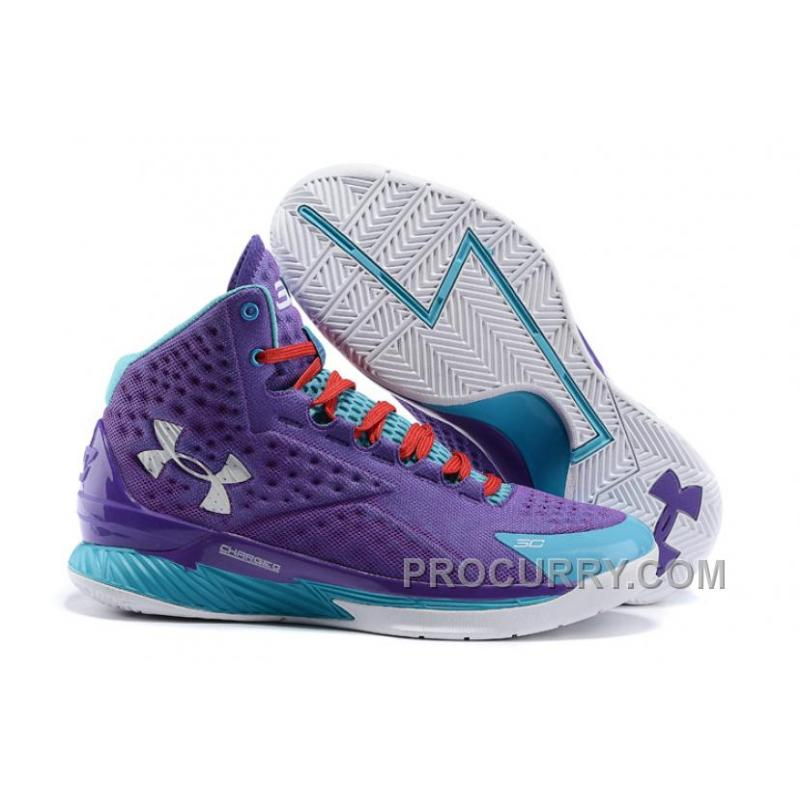 1c605b88b26e USD  76.00  212.80. Free Shipping Under Armour Curry One Women Purple Month  ...