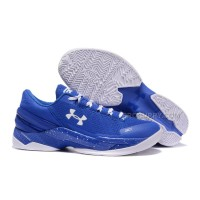 Under Armour Curry Two Low Royal Blue White Cheap