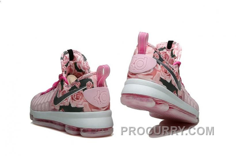 06125084d8a KD 9 Pink Black Aunt Pearl Flora 2016 For Sale New Arrival